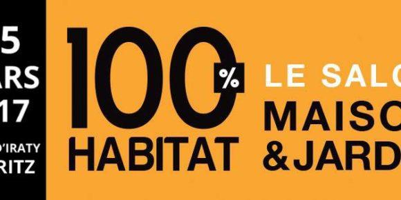 Salon 100% Habitat – Biarritz – 3 au 5 mars